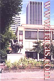 Oregon History Center in Portland, USA